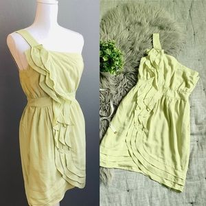 BCBGeneration Honeydew Green Cocktail Dress
